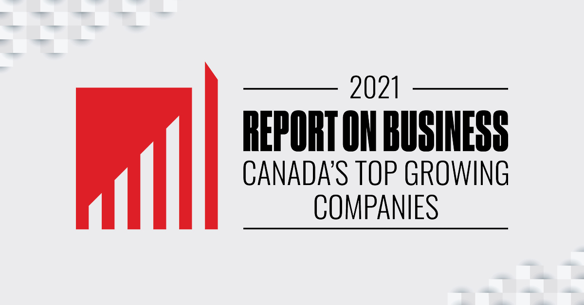Cinchy Joins Canada's 2021 Top Growing & Trendsetting Companies